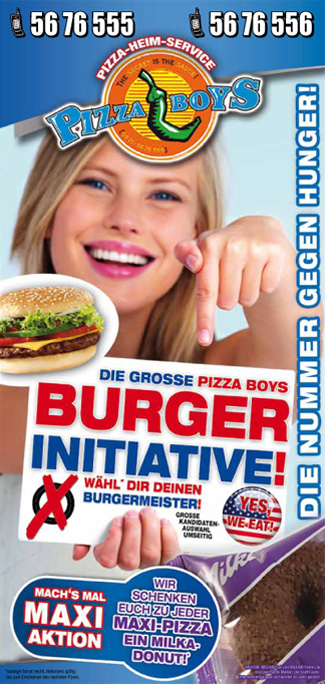 Pizza Boys Folder Februar 2012 | redfrogmedia.de | grafikdesign | gestaltung | satz & layout | augsburg